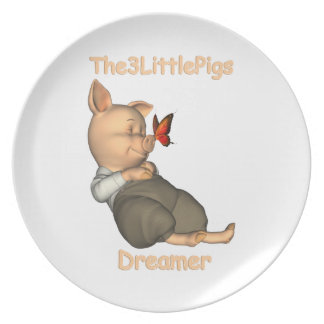 The3LittlePigs Dreamers Plate