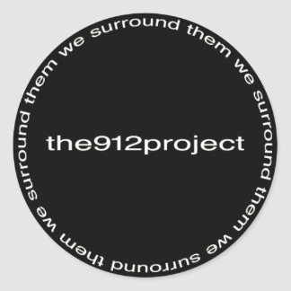 the912project classic round sticker