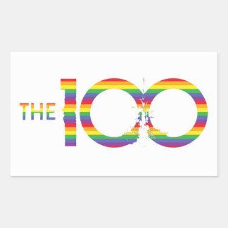 The 100 LGBT Sticker