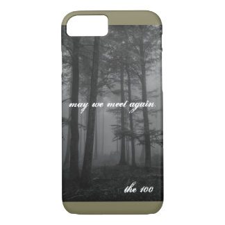 the 100 Quote I Phone case. iPhone 8/7 Case