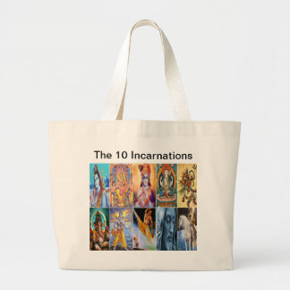 The 10 Incarnations Tote