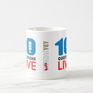 The 10 Questions LIVE ABA Journal Coffee Mug