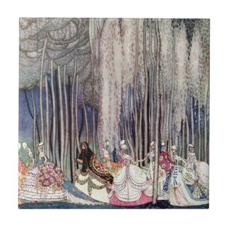 The 12 Dancing Princesses in the Forest by Nielsen Tiles