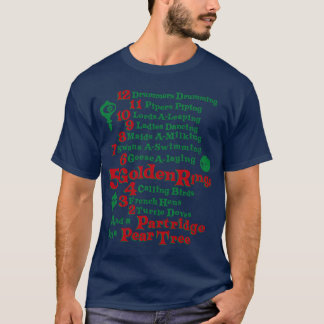 The 12 Days Of Christmas T-Shirt