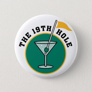 The 19th Hole 2 Inch Round Button