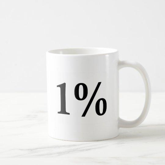 The 1% coffee mug