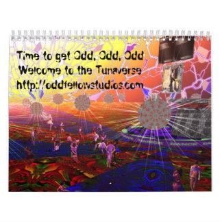The 2011 Tunaverse calendar
