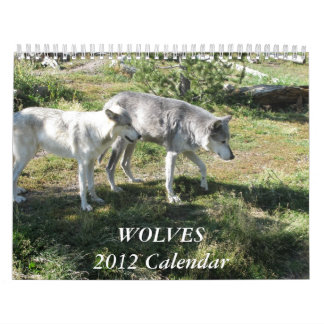 The 2012 Wolf Calender Calendars