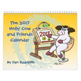 The 2017 Holly Cow and Friends Calendar