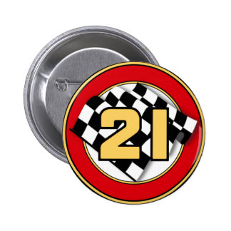 The 21 Car 2 Inch Round Button