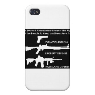 The 2nd Amendment Protects... iPhone 4 Covers