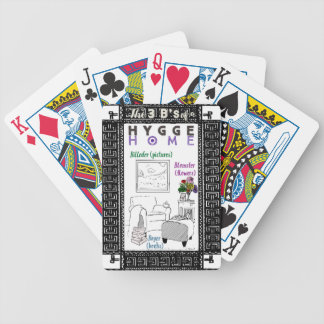 The 3 B's of a Hygge Home Bicycle Playing Cards