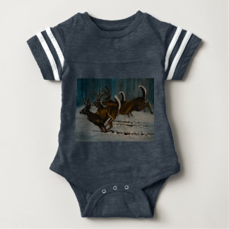 The 3 Deers Baby Bodysuit