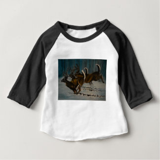 The 3 Deers Baby T-Shirt