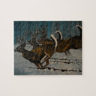 The 3 Deers Jigsaw Puzzle