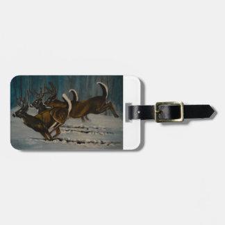 The 3 Deers Luggage Tag