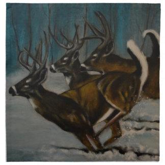 The 3 Deers Napkin