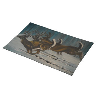 The 3 Deers Placemat