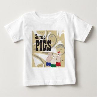 The 3 Little Pigs Baby T-Shirt