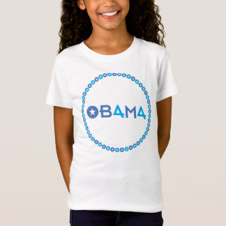 The 44th President, Barack Obama, 50 Blue Stars T-Shirt