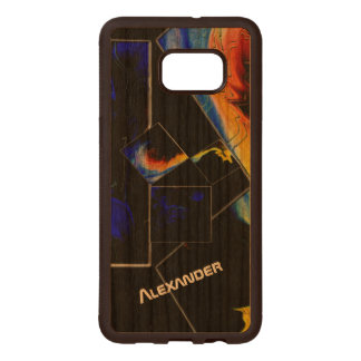 The 47th Problem of Euclid (Cosmic) Wood Samsung Galaxy S6 Edge Case