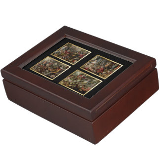 The 4 Elements-Air, Fire, Water, Earth Cards Box 3 Memory Box
