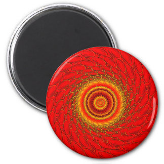 The 4 elements: Fire 2 Inch Round Magnet