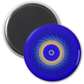 The 4 elements: Water 2 Inch Round Magnet