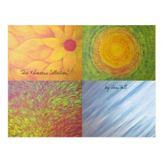 "'The 4 Seasons"" Postcard"