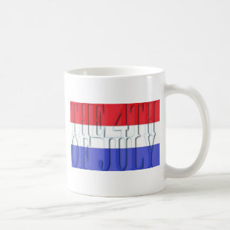 THE 4TH JULY COFFEE MUG