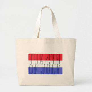 THE 4TH JULY LARGE TOTE BAG