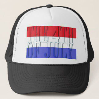 THE 4TH JULY TRUCKER HAT