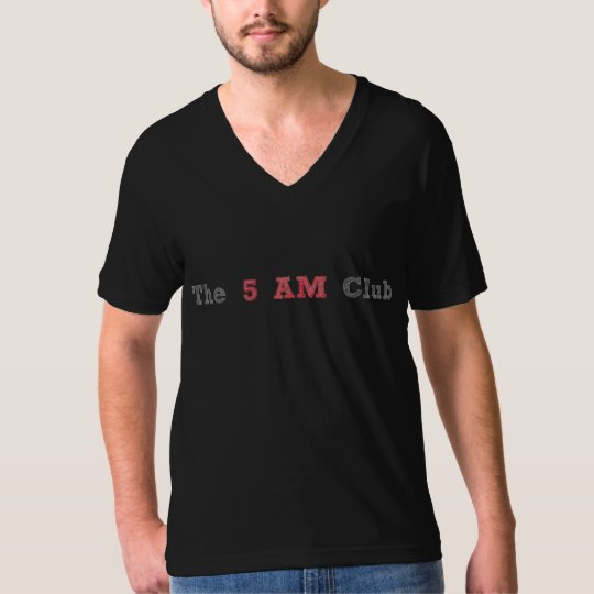 The 5 AM Club Black T-Shirt