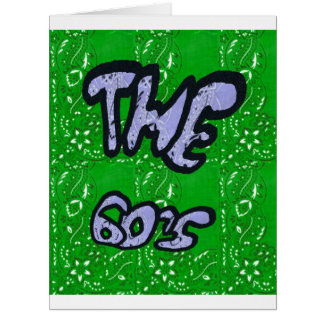 The 60's card