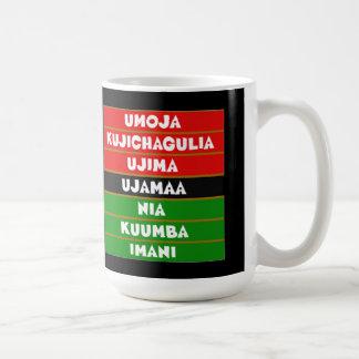 The 7 Principles Kwanzaa Mug