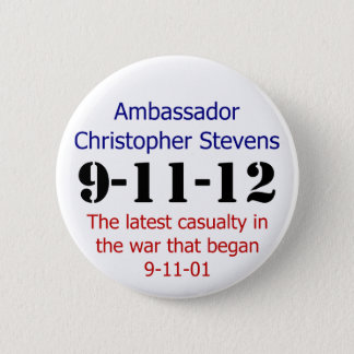 The 911 Anniversary 2 Inch Round Button