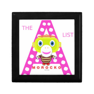 The A List-Cute Monkey-Morocko Gift Box