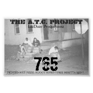 THE A.T.C. PROJECT 765 POSTER