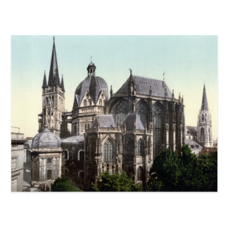 The Aachen Cathedral Postcard