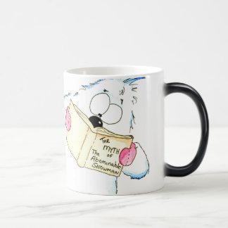 The Abominable Snowman Magic Mug