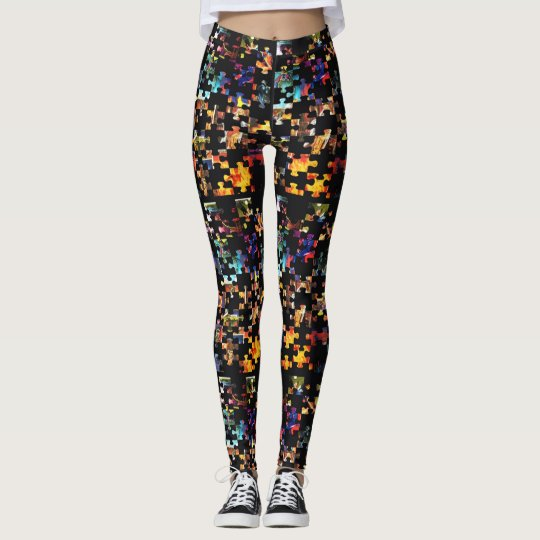 The Abstract Puzzle Leggings