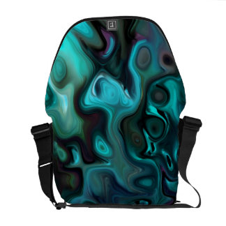 The Abstract Sea of Inner thought: Courier Bag