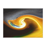 The abstract Trumpet Stretched Canvas Print