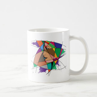 The Abstract Woman by Stanley Mathis Coffee Mug