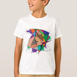 The Abstract Woman by Stanley Mathis T-Shirt