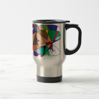 The Abstract Woman by Stanley Mathis Travel Mug