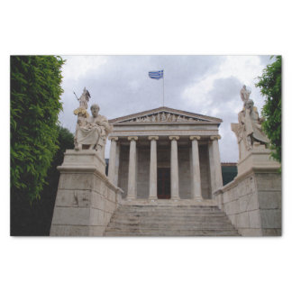 The Academy of Athens Tissue Paper