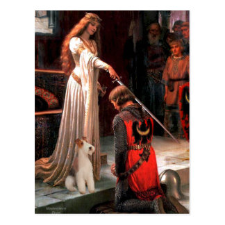 The Accolade - Wire Fox Terrier #4 Postcard