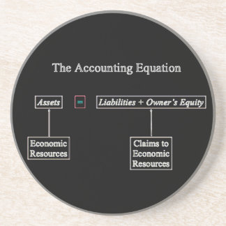 """""""The Accounting Equation"""" Coaster"""