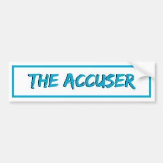 The Accuser Bumper Sticker